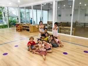 Además del trabajo con adultos, Carolina también trabaja con proyectos especiales de danza con niños. - Suministrada / GENTE DE CABECERA