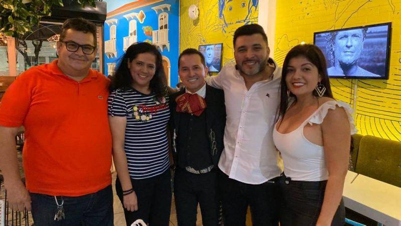 Manuel Reyes, Adriana Bárcenas, Fernando Lituada, René Rincón y Maritza Ortiz Suescún. - Suministrada / GENTE DE CABECERA