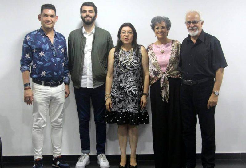 Ciro Miguel Caballero, Julien Humbert, Amparo Caballero, Ana Cecilia Ojeda y Patrick Simeón. - Suministrada / GENTE DE CABECERA