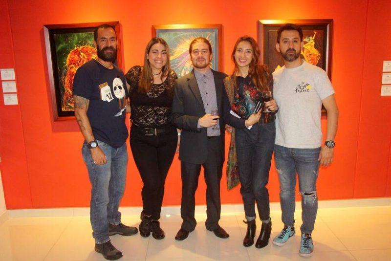 Boris Zárate, Aura Rocío Martínez, Juan Sebastián Gutiérrez, Al Hani Ramírez y Pablo Mantilla.  - Suministrada  / GENTE DE CABECERA