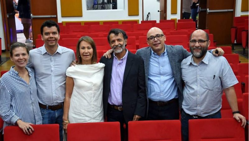 Jennyfer Astudillo, Juan Felipe Aguilar, Teresa Castillo Rugeles, Guillermo León Aguilar, Sergio Augusto Corredor y Santiago Gómez. - Suministrada / GENTE DE CABECERA