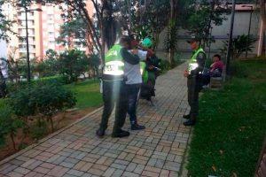La Policía asegura que ha reforzado las actividades de monitoreo en los parques de Cabecera, a raíz de las denuncias de la comunidad. - Suministrada / GENTE DE CABECERA