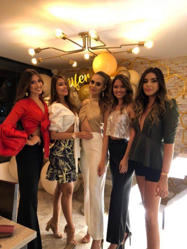 Laura Claro Coronel, Andrea Gutiérrez, Yenifer Hernández Jaimes, Paula Camila Gualdrón y Ashley Ordóñez. - Suministrada / GENTE DE CABECERA
