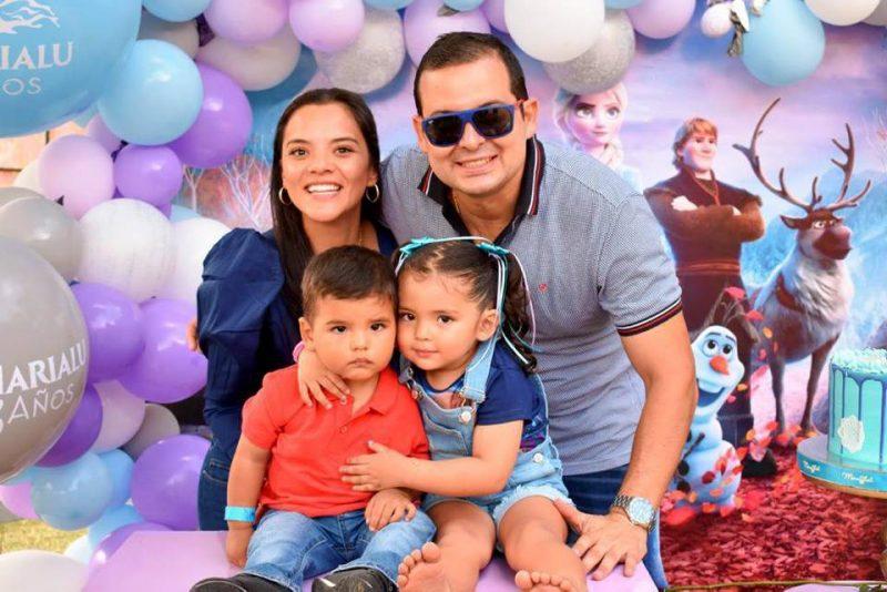 Diana Tabares, Jaime villamizar, Juan Andrés Villamizar Tabares y María Lucía Villamizar Tabares. - Suministrada / GENTE DE CABECERA