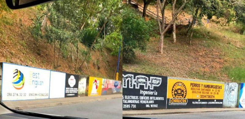 Los murales pintados en espacios públicos con carácter publicitario están prohibidos según el Acuerdo 026 del 10 de septiembre de 2018 del Concejo de Bucaramanga. - Suministradas / GENTE DE CABECERA