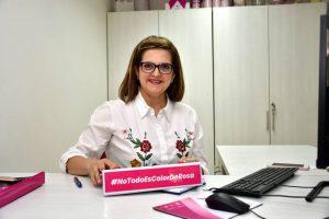 """Uno de los objetivos más grandes de Claudia Mercedes Amaya, es la búsqueda de la aprobación de la Ley 259 de 2019 o Ley """"No todo es color de Rosa"""", que busca el mejoramiento de la condiciones de acceso a tratamientos de cáncer de mama. - Miguel Vergel / GENTE DE CABECERA"""