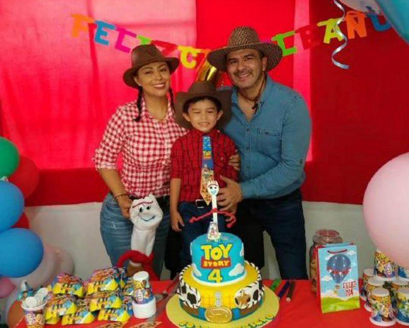 Suministrada / GENTE DE CABECERAIsabella De la Rosa, José Mauricio Soto De la Rosa y Mauricio Soto.