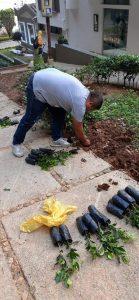A través de voceros de prensa, Empas señaló que si se realizaron labores de siembra de plantas en el sector. Sin embargo la comunidad alega que no fueron suficientes. - Suministrada / GENTE DE CABECERA