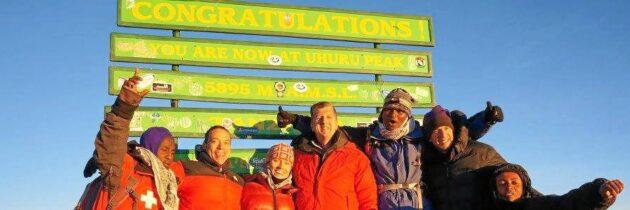 Así llegó Iván López a la cima del Kilimanjaro