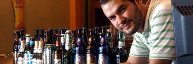 Javier Enrique Osorio: Catador de cervezas
