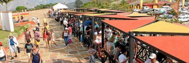 Panachi se llenó en Semana Santa