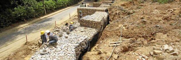 Continúan labores en la vía a Las Colinas