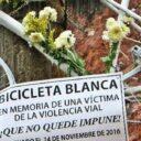 Bicicleta Blanca, símbolo de la vida y justicia