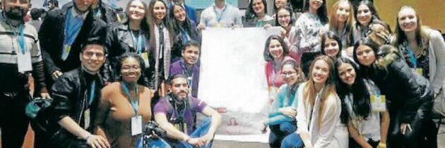 Estudiantes del Cantillana, en Cumbre Internacional