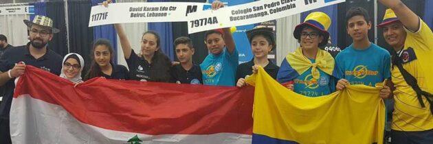 San Pedro, campeón  mundial de robótica
