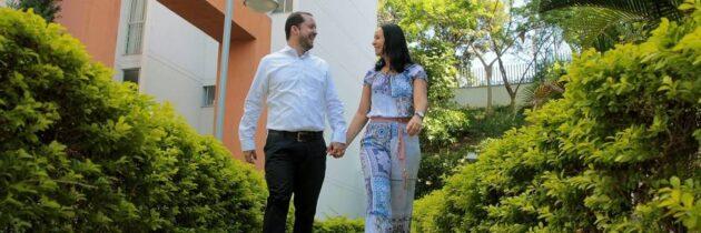 Rafael y Claudia, unidos por el trabajo en pro de la salud