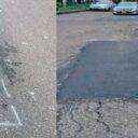 Avanza 'reparcheo' de vías en la comuna 12