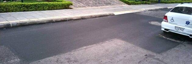 Agradecen el mantenimiento a la malla vial