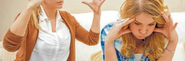 ¿Cómo manejar la rebeldía  en los hijos adolescentes?