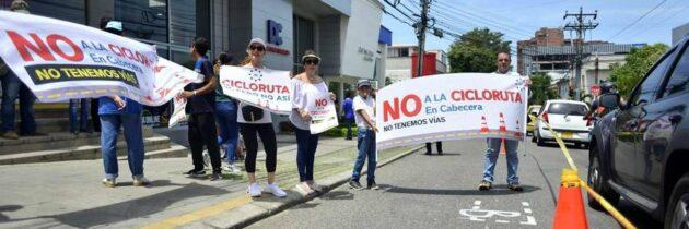 Cabecera y El Prado se mantienen firmes contra los trazados de la ciclorruta