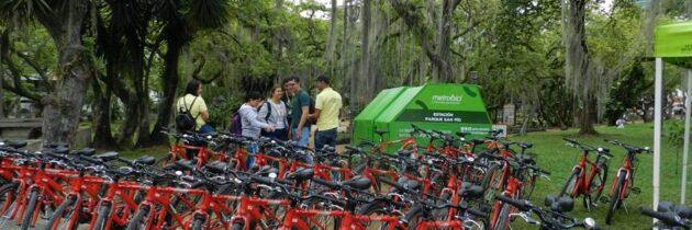 Las bicicletas públicas ruedan por Cabecera y Bucaramanga