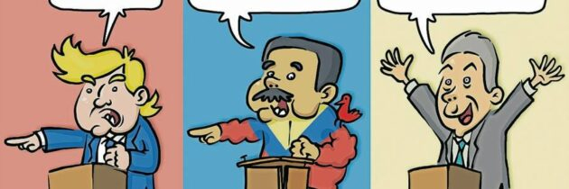¡Fuera colombianos!    (Caricatura)