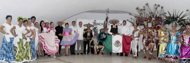 Artistas mexicanos visitaron el sector