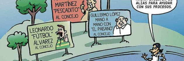 Apodos políticos (Caricatura)