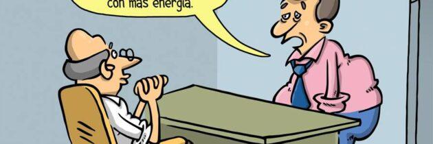 Regreso al trabajo (caricatura)