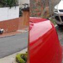 Problemática por mal estacionamiento