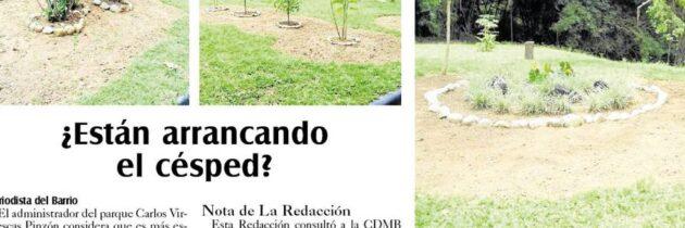 No hay problema con el prado del Carlos Virviescas