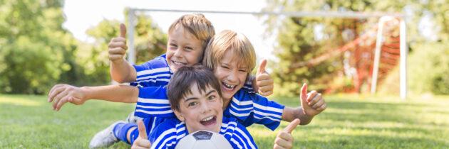 Vacaciones recreativas para niños y jóvenes