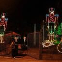 La Navidad ilumina otro parque