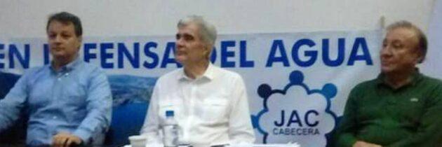 JAC de Cabecera lidera defensa del agua