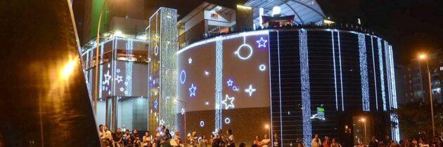 Centros Comerciales  encienden la Navidad
