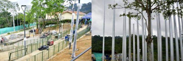 El 'Parque de las Luces' adornará el Tanque de Agua de Cabecera