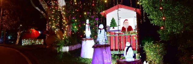 Múltiples colores engalanan a Cabecera en Navidad