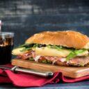 Sándwich, una opción nutritiva para el almuerzo