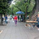 Denuncian a ciudadano que usa árbol como orinal, en Cabecera