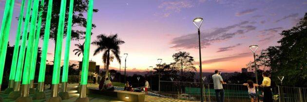 'Las Luces', el parque que adorna a Cabecera