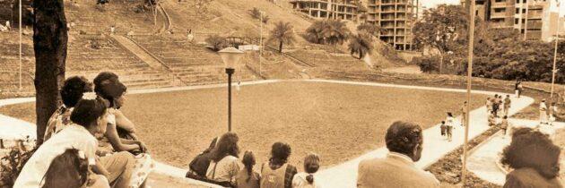 El parque Los Leones: Una obra que trascendió en el tiempo