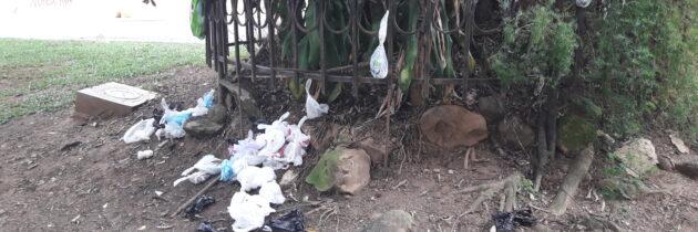 Falta de civismo en Los Leones